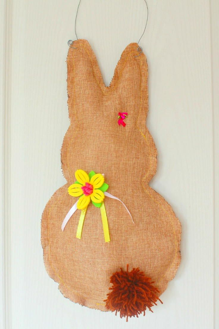78 best easter sewing projects images on pinterest easter crafts bunny door hanger easter projectseaster negle Choice Image