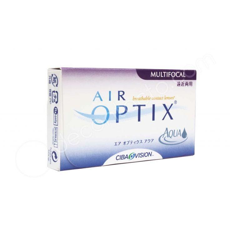 Lentes de contacto multifocales de duración MENSUAL. El sistema único de AIR OPTIX AQUA MULTIFOCAL con 3 addiciones ha sido diseñado para ayudar mejor a los presbyopes.