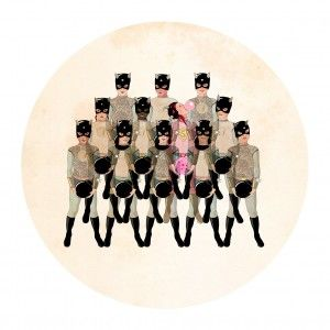 Rebel Art Print Delphine Lebourgeois - available to buy online at Everything begins.