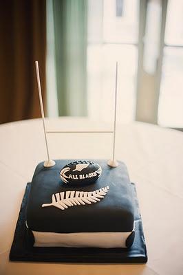All Blacks Goal Cake