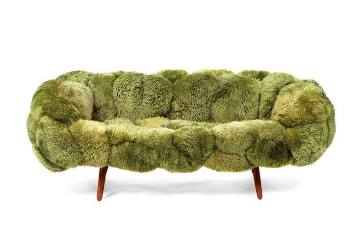 moss sofa