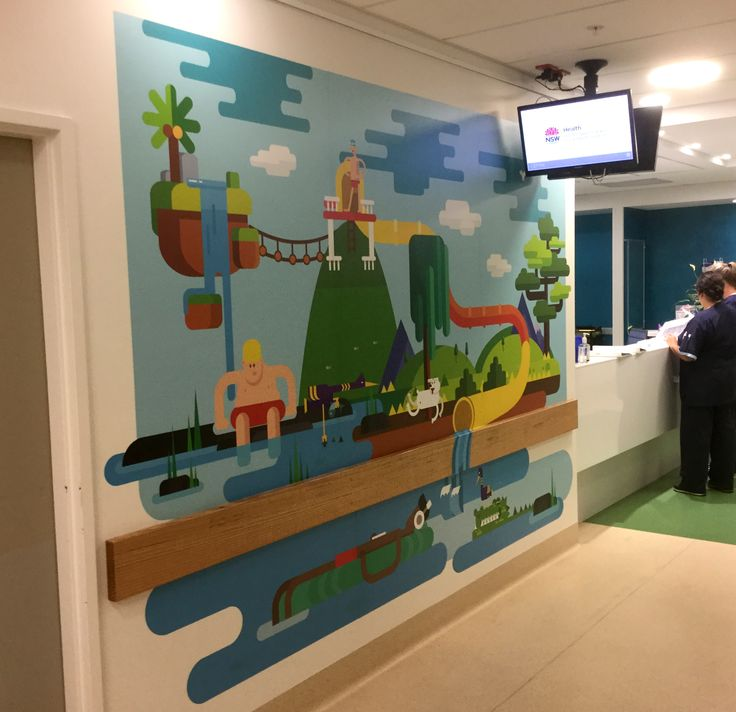 Tamworth Regional Referral Hospital. The Imaginarium Project. Children's ward.