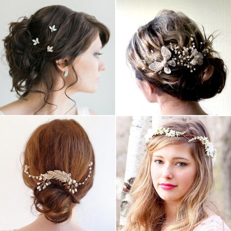 Wedding Hairstyles Etsy