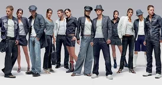 Moda vaquera para todos, es algo que siempre se llevará #moda #vaqueros #ropa #mujer #hombre