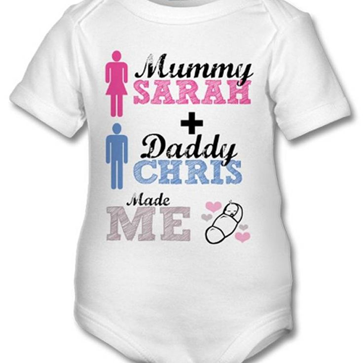 16 best personalised baby sleepsuits grows embroidered images on personalised baby grow newborn baby gift by gifts by lucy notonthehighstreet http negle Image collections