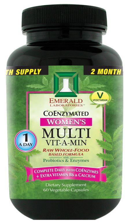 Nature's Happiness - Emerald Labs CoEnzymated Women's Multi Vitamin, 30 ct, $14.95 (http://www.natureshappiness.com/emerald-labs-coenzymated-womens-multi-vitamin-30-ct/)