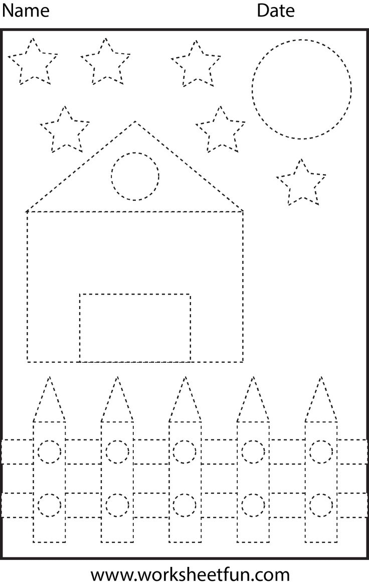 Colouring shapes activities - Letters Numbers And Shapes Tracing Worksheet Free Printable Worksheets Worksheetfun