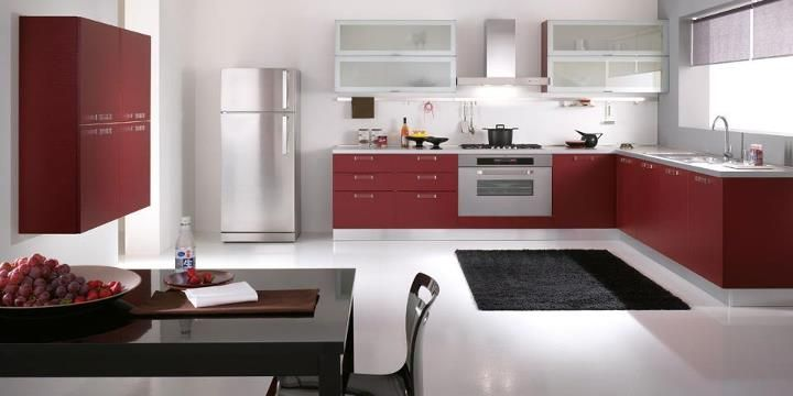 Spar Barcelona line: Beauty and functionality of the main features that only large kitchens have.  http://spar.it/ita/Catalogo/Cucine/Cucine-moderne/BARCELLONA/Proposta-BAR-44-cd-472.aspx