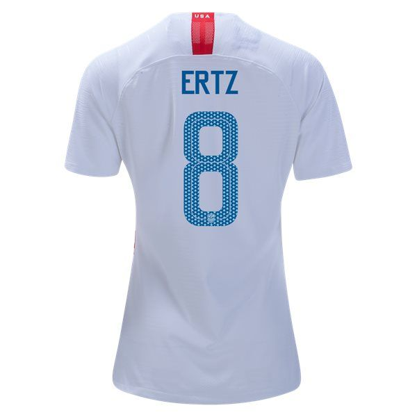 promo code 96ccf 9def2 2018/2019 Julie Ertz Jersey Home Women's USA National Team ...