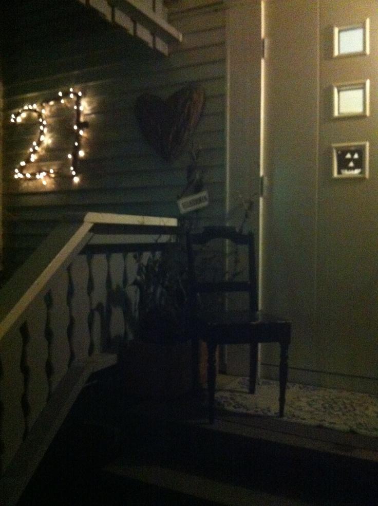 My house number for chrismas:) husnummeret er klart til jul:)