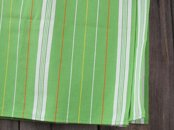 Swedish Vintage Woven Tablecloth Size 48.5 x 70
