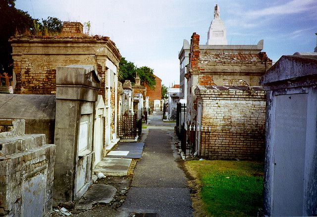 St. Louis Cemetery No. 1 is the oldest and most famous cemetary in New Orleans. It was opened in 1789, replacing the city's older St. Peter Cemetery.