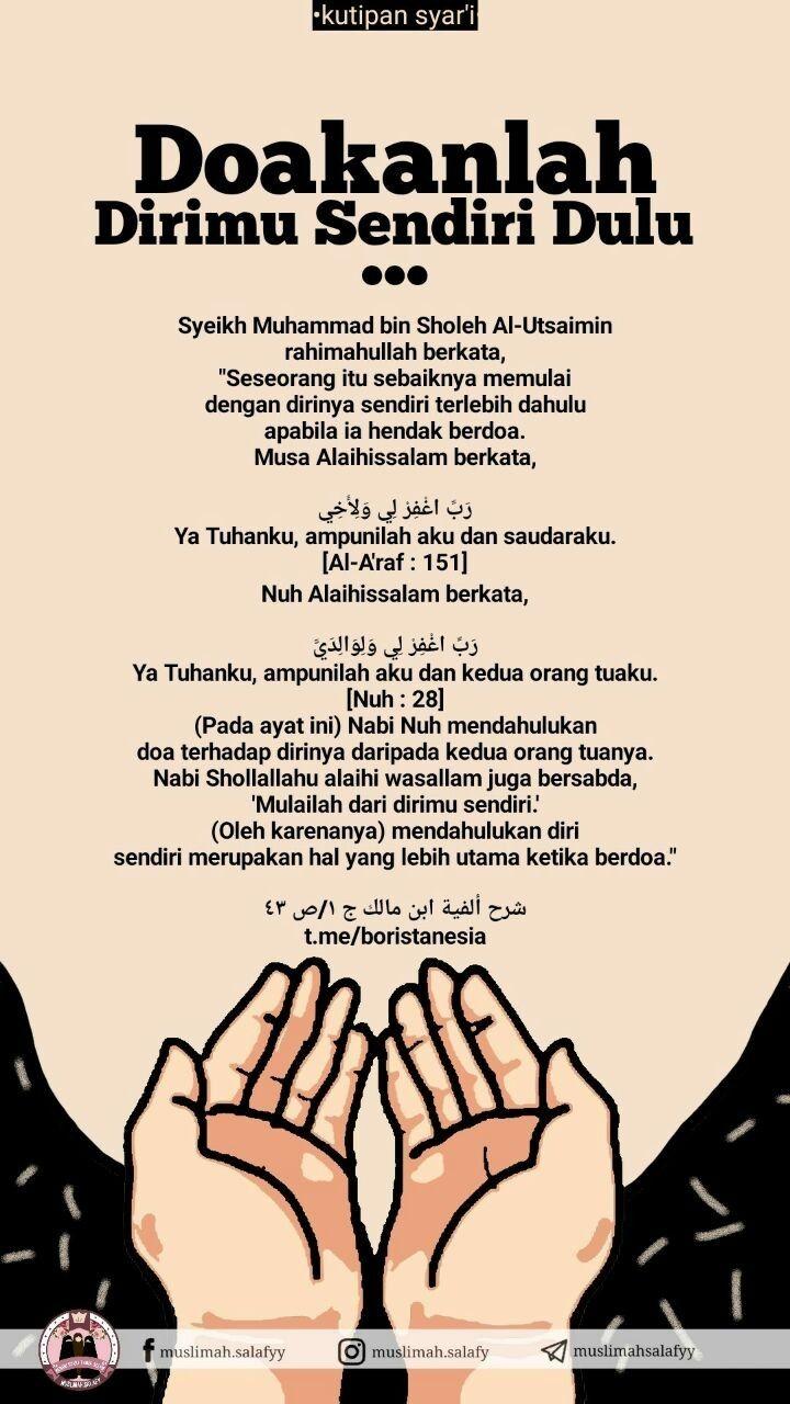 Doa Untuk Diri Sendiri Kutipan Agama Kekuatan Doa Motivasi