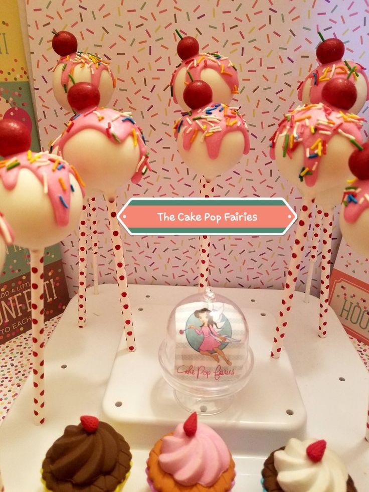 The Cake Pop Fairies  Cherry Coca Cola Cake Pops  Drip Style Cake Pops #THECAKEPOPFAIRIES