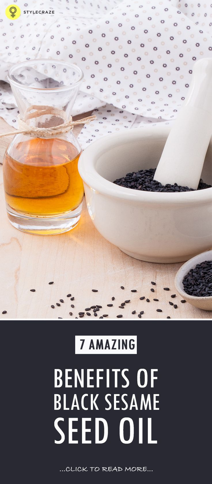 7 Amazing Benefits Of Black Sesame Seed Oil
