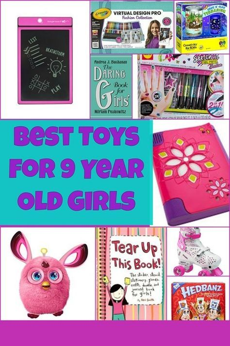 Best Toys for 9 Year Old Girls