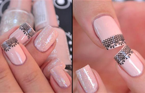 Diseños de uñas con sellos estampados, diseño de uñas con sello lineas.  Follow! #uñasdecoradas #nailsCLUB #uñasdiscretas