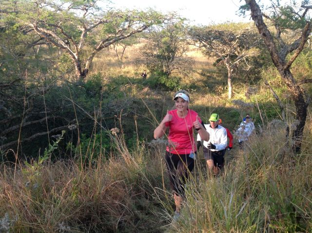 And a whole bunch of happy runners on a freezing Saturday morning @KZNTrailRunning