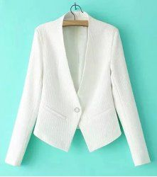 Cheap Blazers For Women | White And Black Blazers For Women Online At Wholesale Prices | Sammydress.com Page 4
