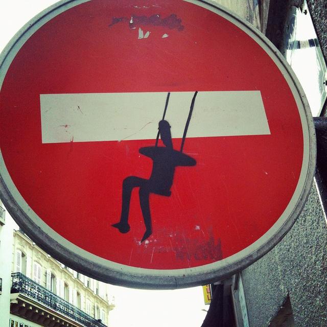 Paris street sign from David Lebowitz