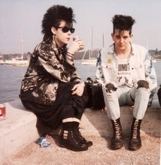 80s Punk Fashion on Pinterest