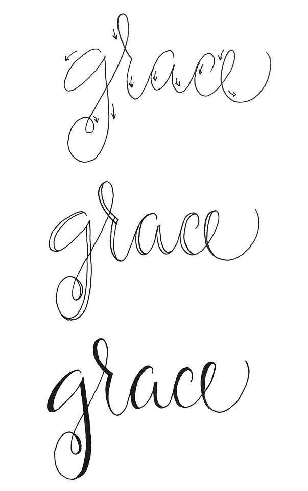 25 best ideas about fake calligraphy on pinterest how T in calligraphy