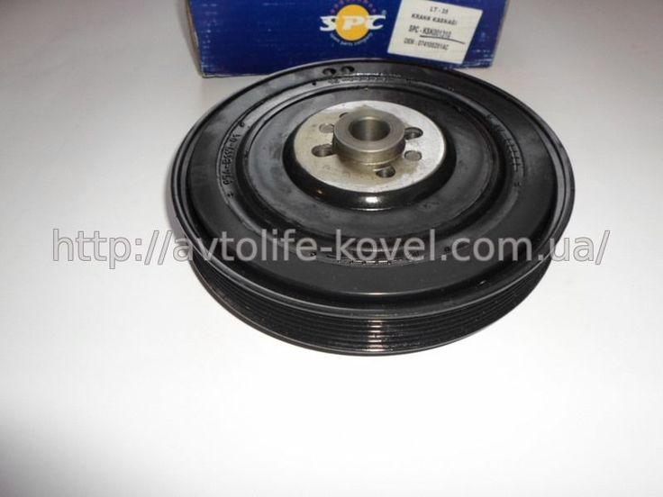 фото, KSK001310, 074105251N/R/T, 074105251N/R/T Шкив коленвала. Volkswagen (LT, Crafter, T-4 Multivan). 2.5TDI. -03