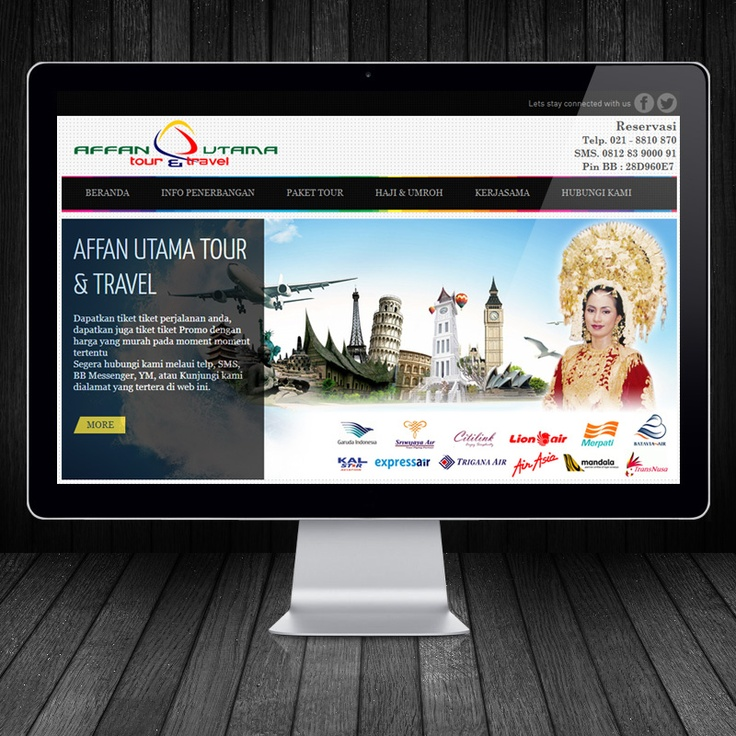 affan travel - www.orbitbumi.com