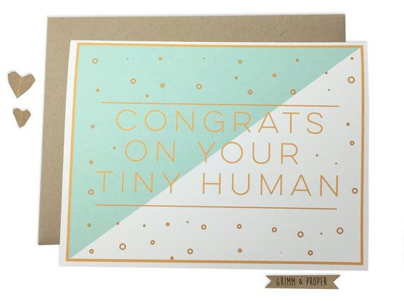 Funny Congrats on New Baby Card Funny Congratulations on New