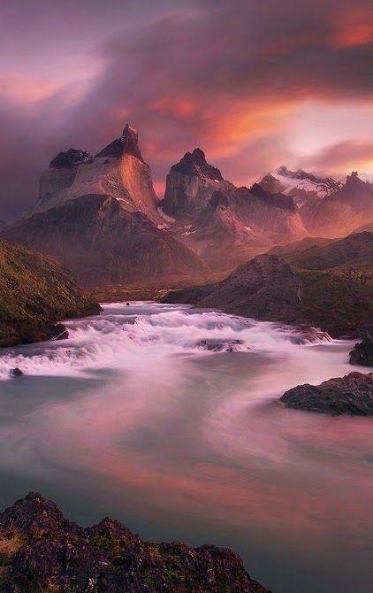 Torres del Paine National Park.