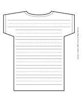 Free lined paper in many different shapes. #freebies #printables