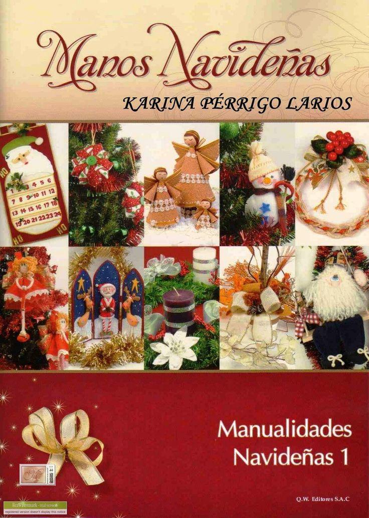 TODAS LAS REVISTAS DE MANUALIDADES GRATIS: Manos Navideñas 1
