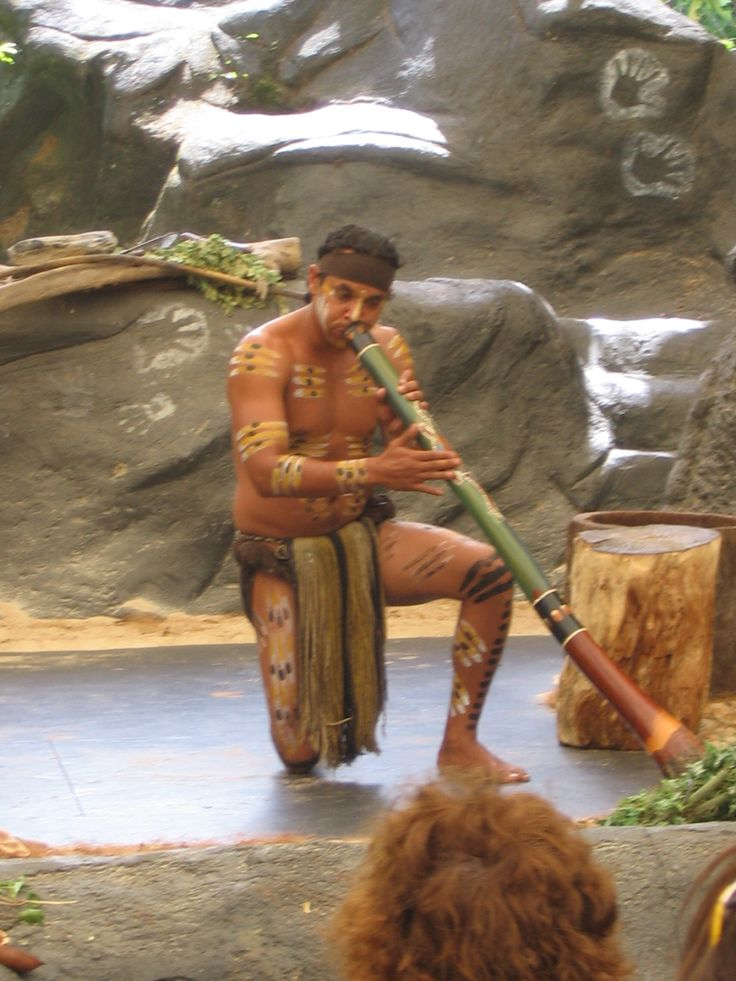Aboriginal Digeradoo, Cairns Australia