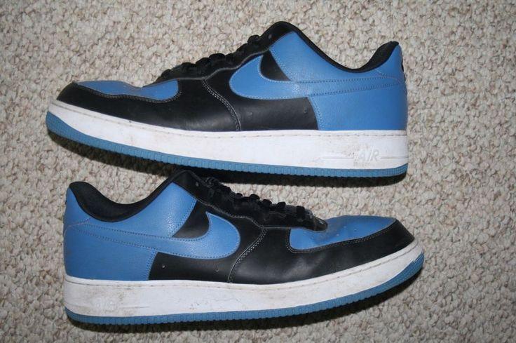 Nike Air Force One navy & blue shoes seventeen 17 Mens Choice 51.5 European men #Nike #BasketballShoes