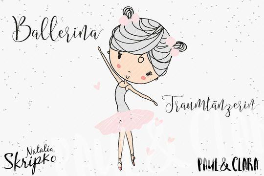"""Plottermotive+""""Prima+Ballerina"""" nach+der+Vorlage+von+Natalia+Skripko Ein+tolles+Set+für+alle+Tanzmäuse+und+Ballerinas. Enthalten+ist+das+süße+Mädchen+in+mehrfarbig,+zweifarbig+und+einfarbig.+Sowie+eine+Miniversion+für+unter+17+cm+Höhe.+Zusätzlich+gibt+es+den+Schriftzug+Ballerina+und+Traumtänzerin. Alle+Beispiele+findet+ihr+auf+meinem+Blog+(paulundclara.com)+und+auf+meiner+Facebookseite+(www.facebook.com/paulundclara)…"""
