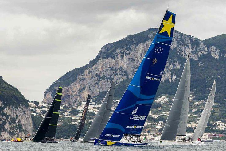 2014 Rolex Capri Sailing Week | Sailing World | Sailing. In Capri. In freaking awesome boats. O.O