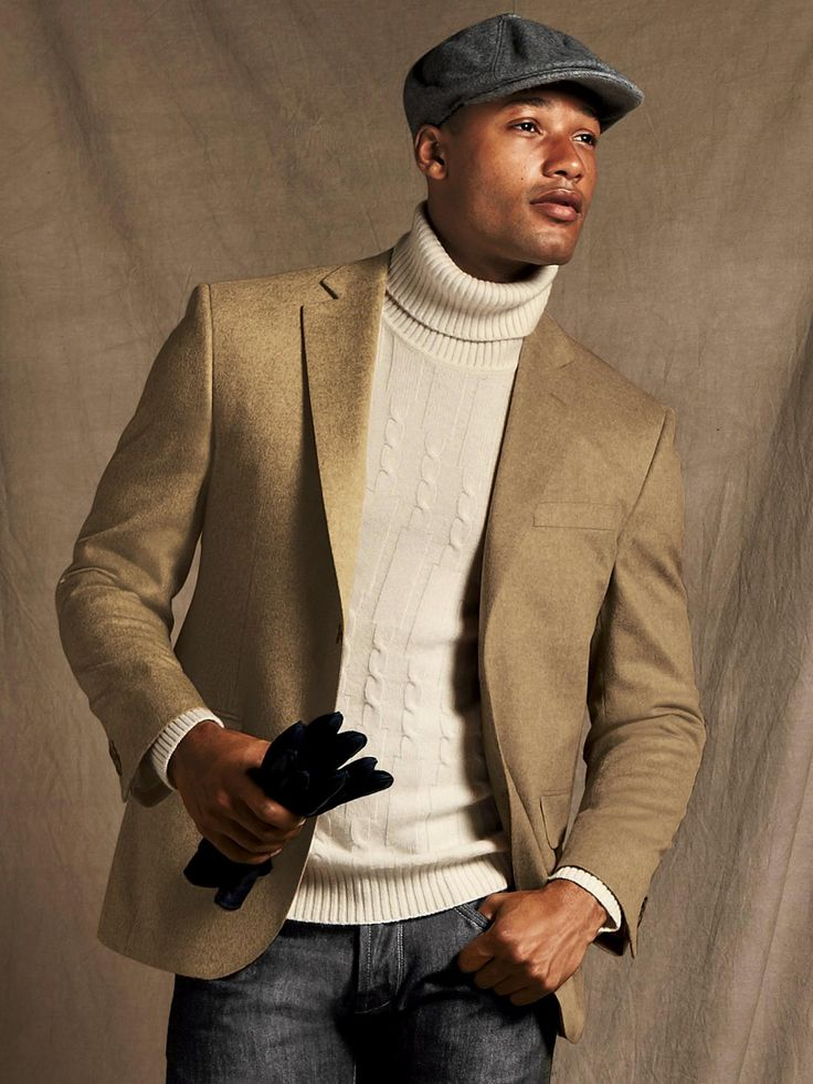 Saks Fifth Avenue Men's Collection Cashmere Camel Sport