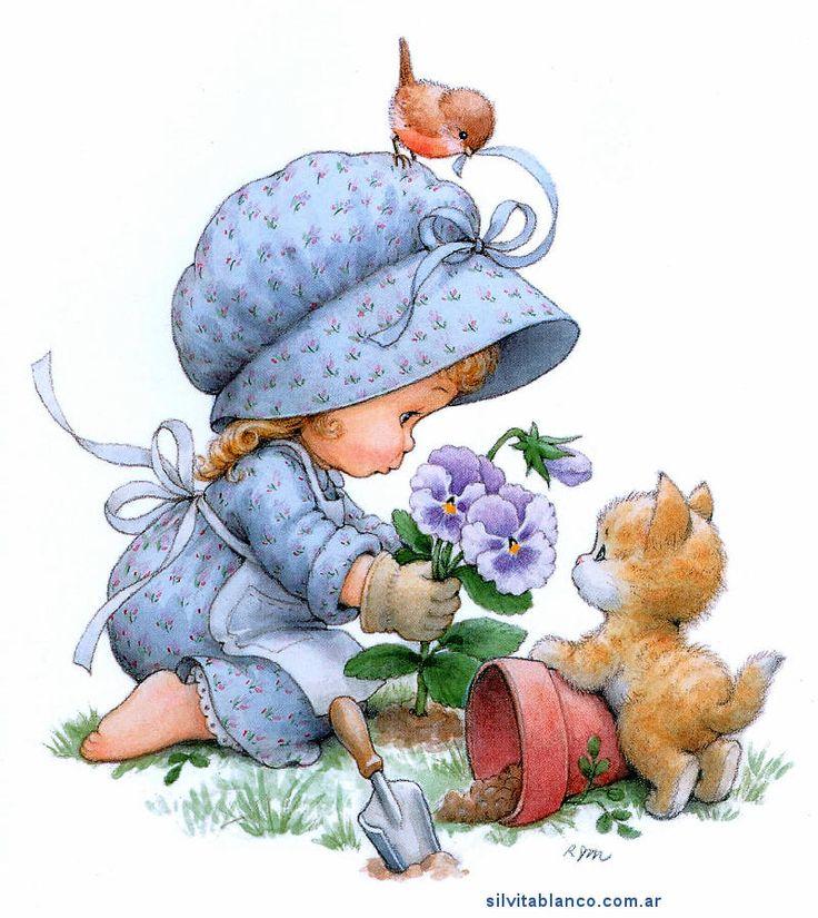 Morehead illustration - gardening