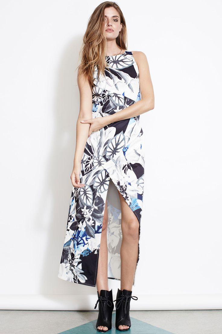 ISLA Stolen Garden Maxi Dress