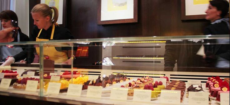 Στη boutique της ζαχαρωτής αρχιτεκτονικής