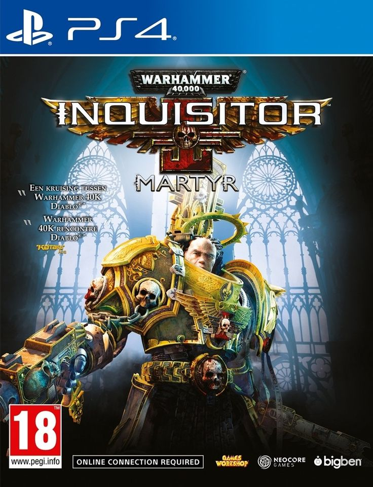 71 Korting Warhammer 40,000 Inquisitor Martyr PS4 voor €