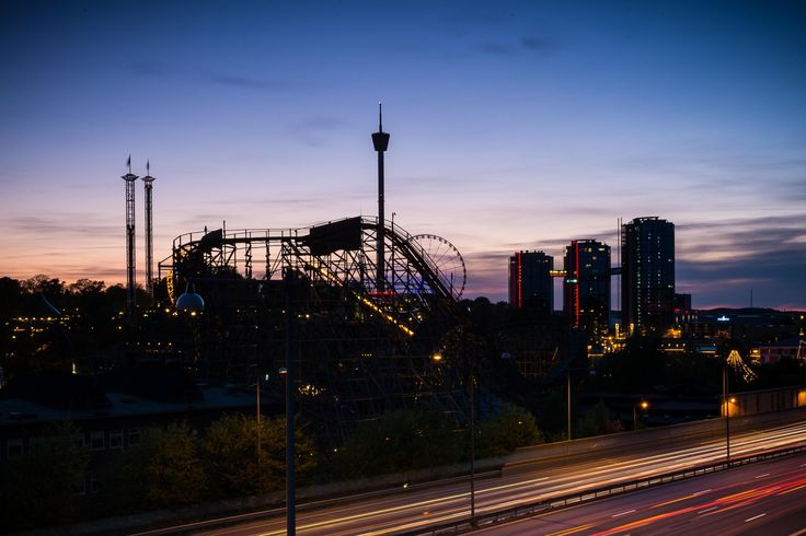 Gothenburg and view over Liseberg by Daniel Ek on 500px
