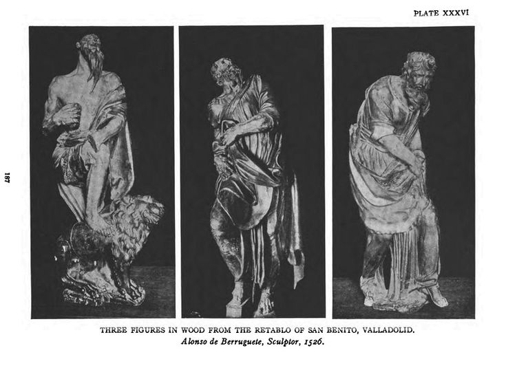 Alonso de Berruguete three figures in wood - Category:Alonso Berruguete — Wikimedia Commons
