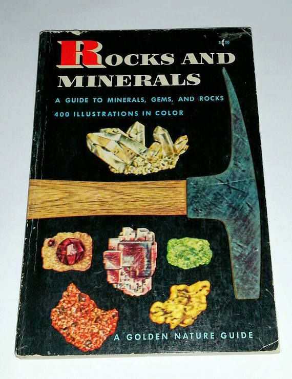 Check out this item in my Etsy shop https://www.etsy.com/ca/listing/533331671/vintage-rocks-minerals-book-1950s