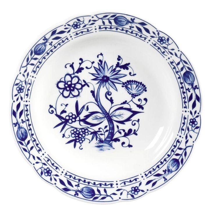 Triptis Porzellan Dekor 'Zwiebelmuster' Teller tief 22 cm (1 St kaufen