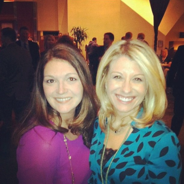 @ImSoSarah and @Laurie Ruettimann at #HRTechConf, but they'll hopefully both come back to #TruLondon soon!
