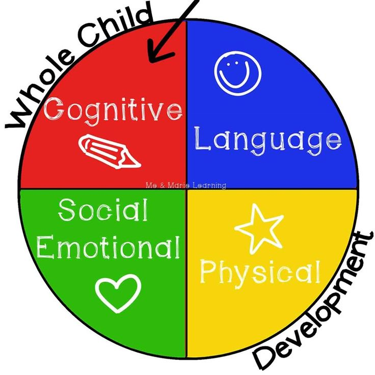 cognitive Whole Child Development | cognitive learning ...