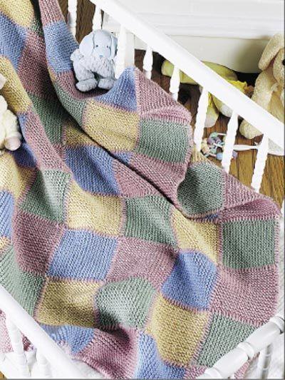 43 best Free Baby Blanket Knitting Patterns images on Pinterest ...