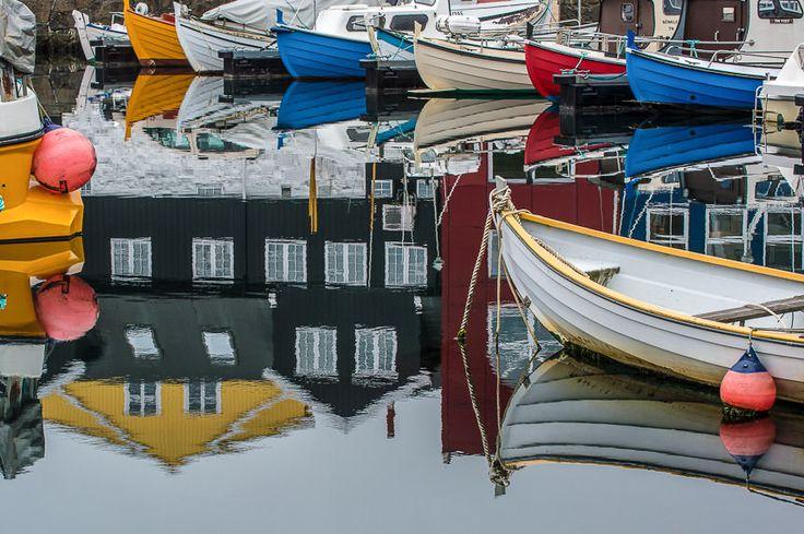 Boats in Marina, Torshavn, Faroe Islands_2