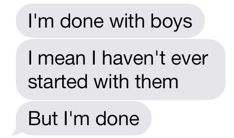 if there was ever a message that described my life